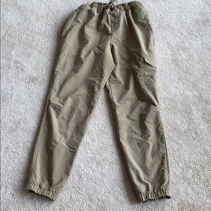 Champion track pants.